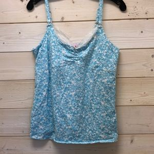 Lilly Pulitzer blue patterned Cami